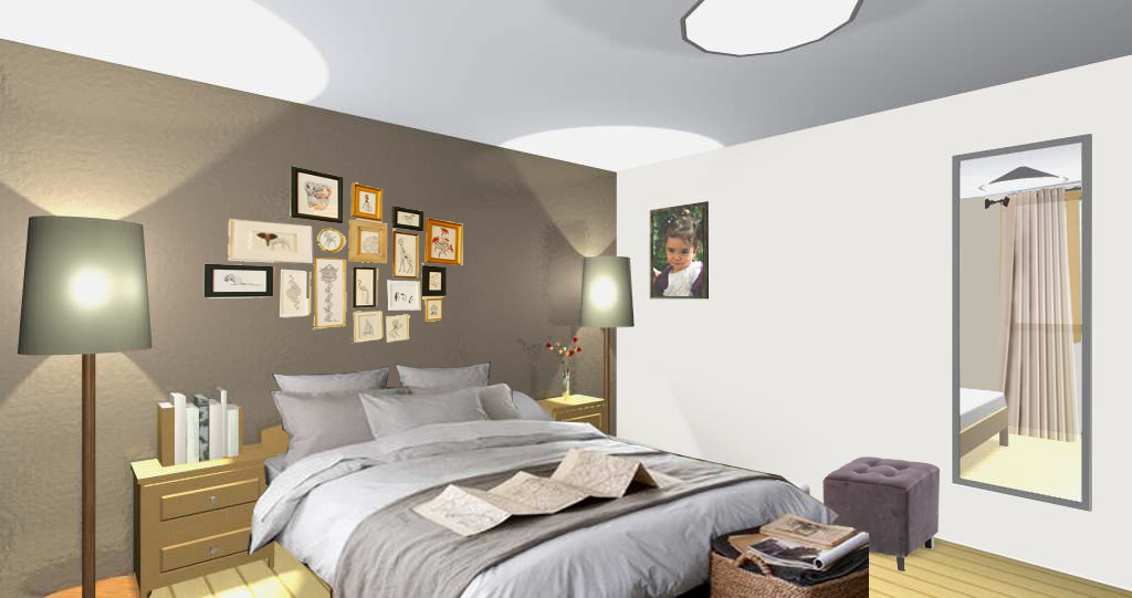 am nagement d 39 une chambre c cile granger. Black Bedroom Furniture Sets. Home Design Ideas